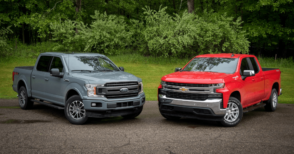 Comparing the Ford F-150 and Chevrolet Silverado