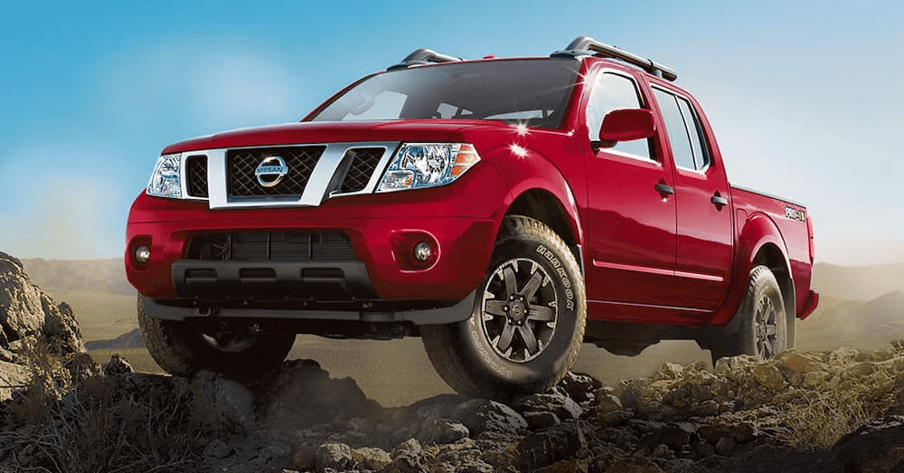 For the Best Drive, Choose the Nissan Frontier PRO-4X