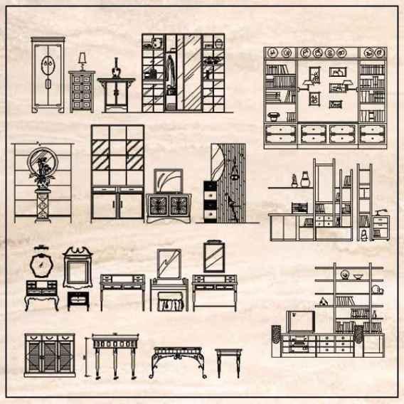 Furniture Elevation design