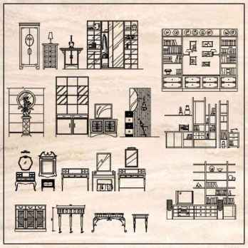 Furniture Elevation design