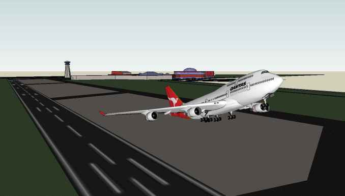 💎【Sketchup Architecture 3D Projects】10 Types of Airport Design Sketchup 3D Models V2
