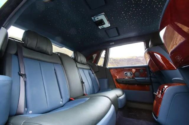 Rolls Royce Phantom 2018 review interior roof