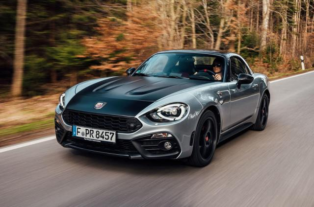 Abarth 124 GT review 2018 hero front
