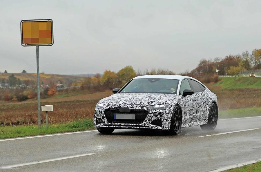 New 2019 Audi Rs7 Sportback To Break 600bhp Barrier Autocar