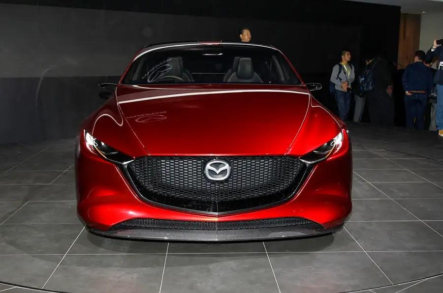 striking mazda kai concept previews new 3 hatch for 2019   autocar