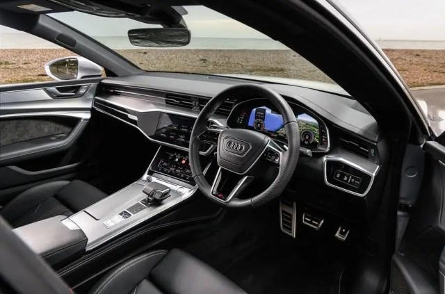 Audi A7 cabin