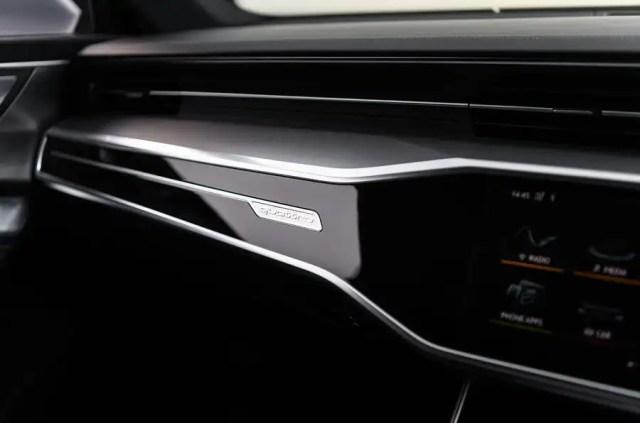 Audi A7 interior detail