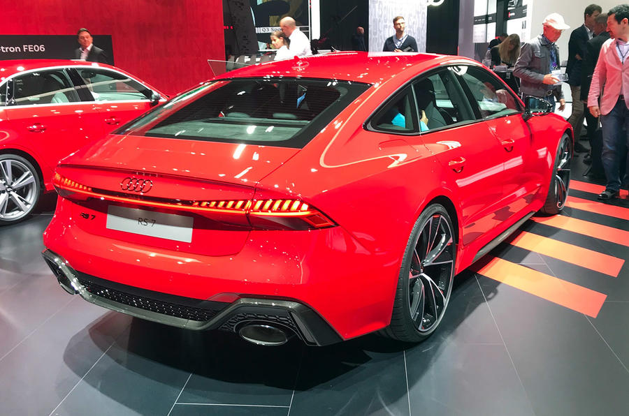 New Audi Rs7 Receives Redesign And 591bhp V8 Autocar