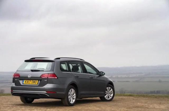 Volkswagen Golf Estate rear static