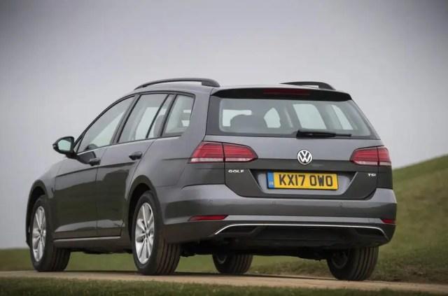 Volkswagen Golf Estate rear