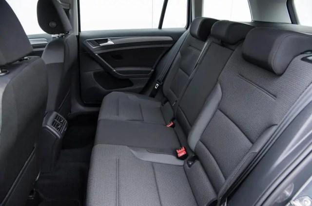 Volkswagen Golf Estate rear seat