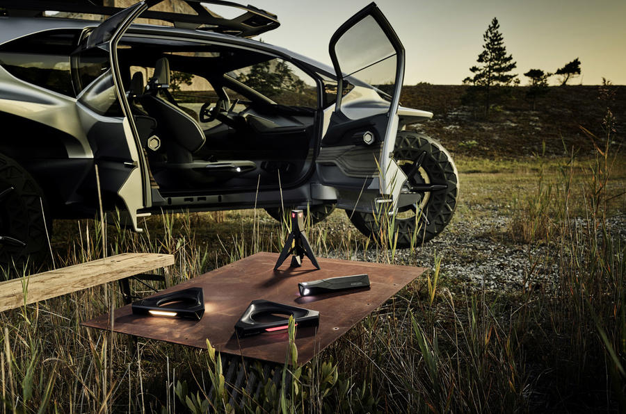 Audi Ai Trail Concept Previews Brand S Future Suv Styling Autocar
