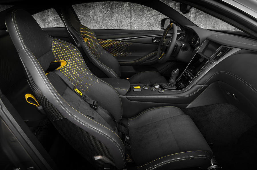 Infiniti Q60 Black S Performance Hybrid Unveiled At Paris