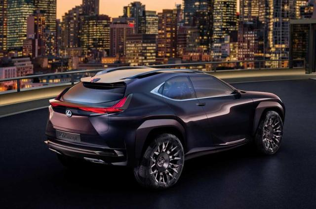 Lexus UX concept revealed in Paris