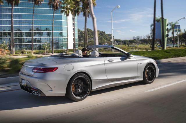 Mercedes-AMG S63 Cabriolet rear