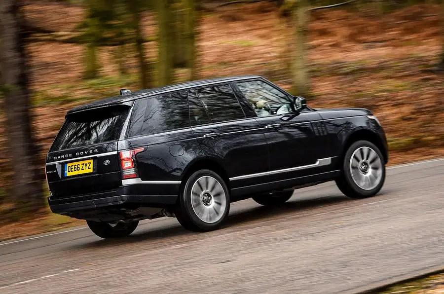 Range Rover Tdv6 Vogue Se Rear