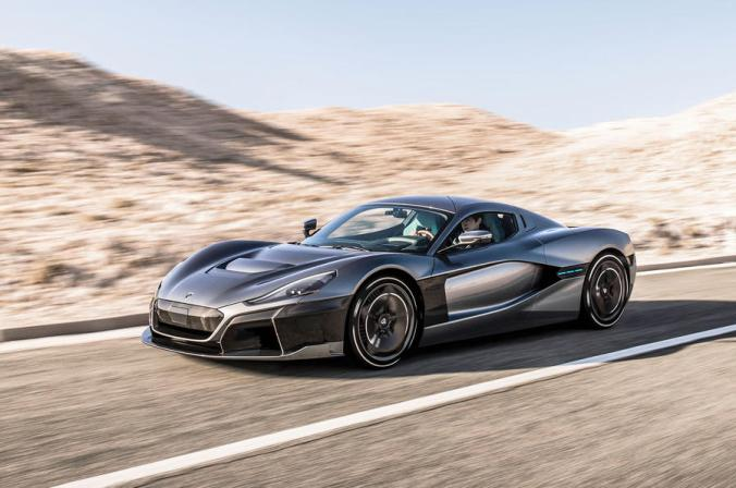 The Rimac C_Two can do 0-60mph in 1.85 seconds