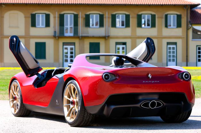 Résultat de l'image pour Ferrari Pininfarina Sergio