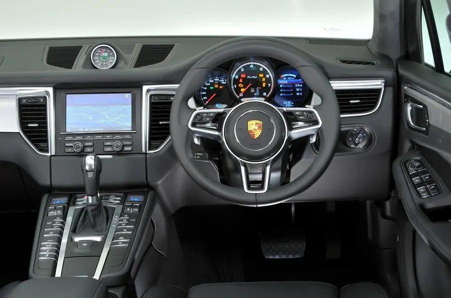 Porsche Macan Interior Autocar