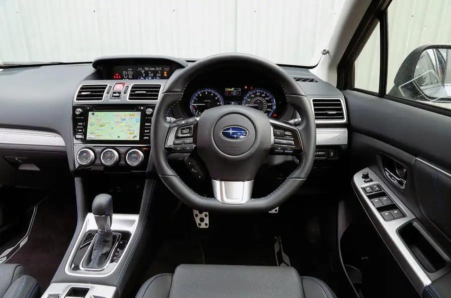 Subaru Levorg Interior Autocar