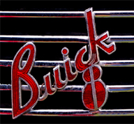 Buick logo history 1930-1937