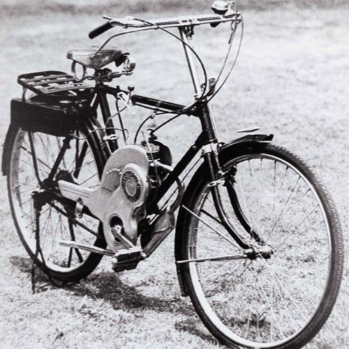 1952 Suzuki power free motorized bicycle