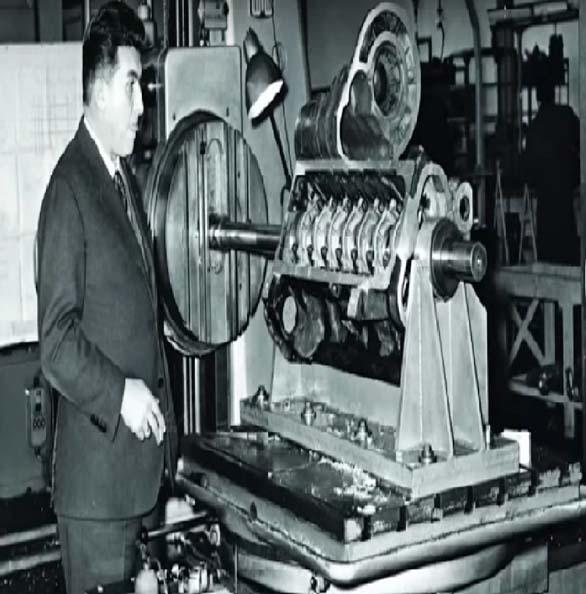 Lamborghini cars manufacturing machine