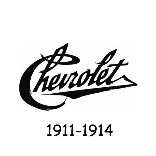 Chevrolet logo 1911-1914