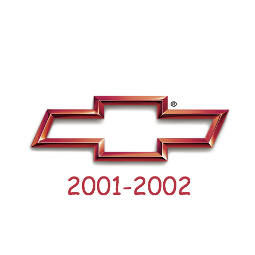 Chevrolet logo 2001-2002