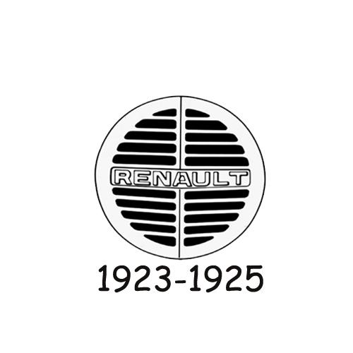 Renault logo 1923-1925