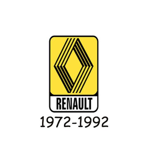 Renault logo 1972-1992