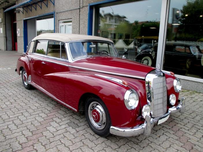 Restauro Mercedes w 186 Adenauer