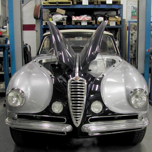 Restauro Alfa Romeo 6C 2500 Touring Super Leggera