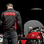 2013 Royal Enfield Continental GT riding gear
