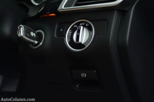 2013 ML 350 CDI key and headlamp switch