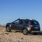 2014 Renault Duster Facelife rear three quarters