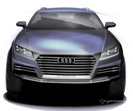Audi Crossover Concept front