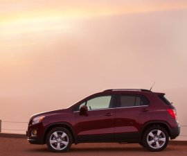 2014 Chevrolet Trax side profile
