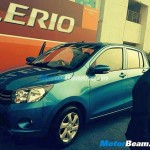 Maruti Suzuki Celerio spotted without disguise