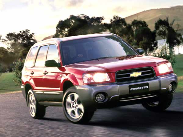 The Chevy Forester- a versatile Subaru product but sold in India under the Chevy umbrella