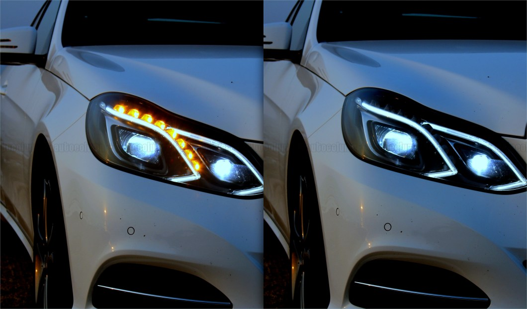LED headlamps with DRL & integrated turn signal makes the front look very aggressive
