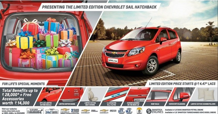 2014 Chevrolet Sail U-VA limited edition