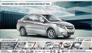 2014 Chevrolet Sail limited edition