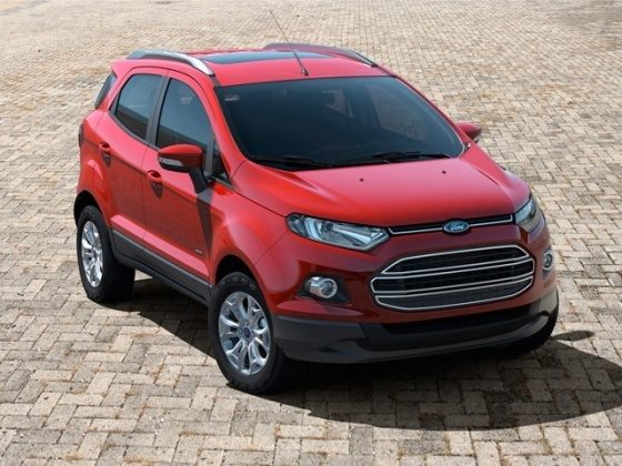2014 Ford EcoSport with sunroof