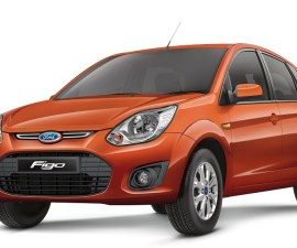 2014 Ford Figo front three quarters