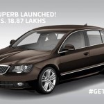 Skoda launches the Superb facelift