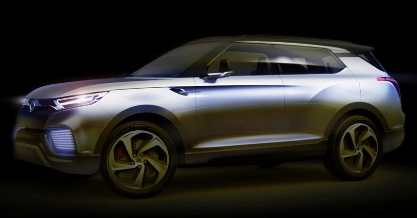 Ssangyong XLV concept front