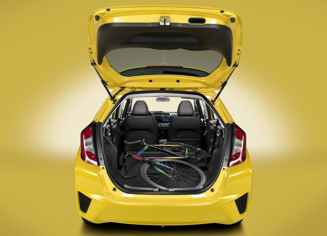 2015 Honda Jazz/Fit boot space when seats folded