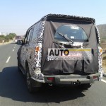 AutoColumn Exclusive: 2014 Mahindra Scorpio spotted being tested in Pune