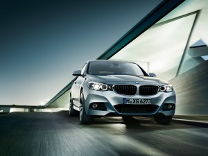 2014 BMW 3 series GT front